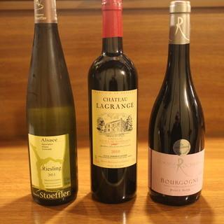 合わせてワインはいかがでしょうか。