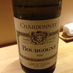 すし天 - つい何杯でも飲んでしまうフランス白ワイン