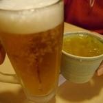 味彩 - ドリンク写真:生ビールは450円です
