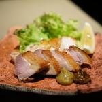 銀座 佐藤養助 - 比内地鶏の炙り