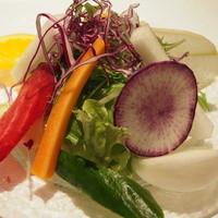 Toshiのサラダは、ハンバーグ同様メイン料理である!!!