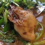 sync - 牡蠣とクレソンのカレー