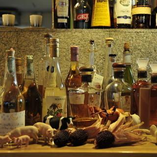 北海道のワインのワインやブルゴーニュワインなど食後酒まで