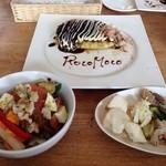 Cafe de RocoMoco - ハーフ