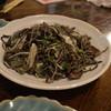 食彩酒房 がぐ屋 - 料理写真:いか墨ソーメンちゃんぷる 2014/04/28