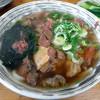 ゆう - 料理写真:「すじ肉うどん」500円(2014.3)