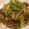 中国飯店 - 料理写真:宿のレストランで、石巻焼きそば。牡蠣のエキスがウマー。もちろん牡蠣もはいってますよ。