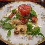 ラトリエ・ドゥ・ニシタニ - 魚介たっぷりの前菜