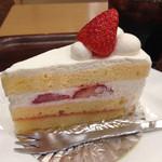 アップカフェ - ショートケーキ(単品は470円)