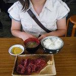 鯨食堂 - 料理写真:鯨さしみ定食