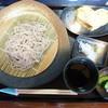 そば処寿々庵 - 料理写真:もりそばランチ900円自家製卵焼き付き