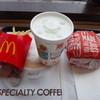 マクドナルド - 料理写真:とんかつマックバーガーセット