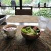 ガネーシャ - 料理写真:ランチセットの、サラダ&スープ♪