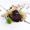 レストランひらまつ - 料理写真:ポルト酒風味のフォアグラ パン・ペルデュのロースト 長ナスのコンポートとリンゴ添え