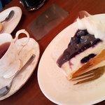 ルジャンドル - ケーキセット