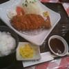 とんかつの専門店津田 - 料理写真:ロースカツ定食(170g)