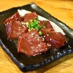 ホルモン焼肉 肉の大山 - レバー(580円)