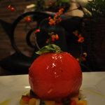 """フラワーズ - 料理写真:甘酸っぱくて、みずみずしい! """"トマトのファルシーサラダ"""""""