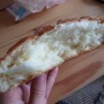 アルテリア・ベーカリー - メロンパン断面