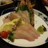どんこ舟 - 料理写真:活〆カンパチ刺