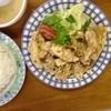 まんぷく飯店 - 料理写真:鳥天定食 750円
