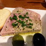 SPAIN BAR&CAFE Esperanza - 愛する豚子こと豚肉のパテ様も負けず劣らず塩分のよく効いたシュワシュワ大泥棒!!