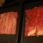 鍋ぞう - 牛肉と豚肉