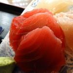 海人市場 - 刺身定食の鮪