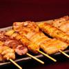 焼鶏処 ゑぼし - 料理写真:焼き鳥盛合せ(小)6本