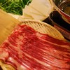 馬喰ろう - 料理写真:新橋店名物「馬しゃぶしゃぶ鍋」