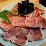 川仙 - 豚タン刺