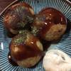 二劫 - 料理写真:タコ焼き ¥100