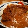 とんかつまつを - 料理写真:かつカレー(辛口)