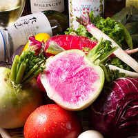 朝獲りの新鮮な三浦野菜を贅沢に♪