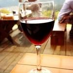 27495166 - グラスワイン赤