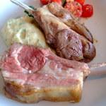 ニューヨーク・グリル - 骨付子羊背肉のロースト