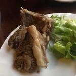 青空 - チャンスンマハ(茹で骨付き羊肉)