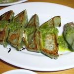 麺Dining セロリの花 - トマト餃子