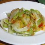 麺Dining セロリの花 - ザーサイの浅漬け