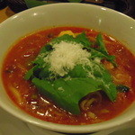 麺Dining セロリの花 - トマトスープ麺