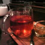 和カフェ yusoshi - しょうがほうじ玄米茶(蜂蜜付き)