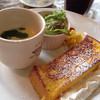 キャラバンサライ - 料理写真:フレンチトースト&茶碗蒸し