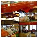 奴寿司 - 「カウンター席」を利用しました。この日は全員県外の方ばかり・・