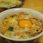 鳥喜多 - 料理写真:親子丼とかしわ鍋