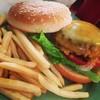 ザ サッド カフェ - 料理写真:チーズバーガー
