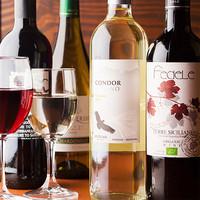 ワインにこだわりあり!赤も白も豊富にそろってます★