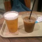 27554091 - ビール(500円)&アイスコーヒー(M)(360円)
