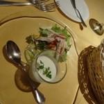 ビ アバンス - Bコース前菜 サラダ仕立て