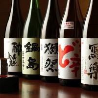 純米酒にこだわってます。