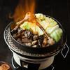 新橋シャモロック酒場 - 料理写真:炭炎で炙る 切り落としシャモロック